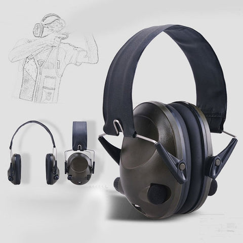 TAC 6S Foldable Design Noise Canceling Tactical Headset,  [product_collection], DEFINITE Sporting Goods, [product_tags]- DEFINITE Sporting Goods