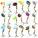 Spinner & Spoon Fishing Lures 30pc set with tackle box.,  [product_collection], DEFINITE Sporting Goods, [product_tags]- DEFINITE Sporting Goods