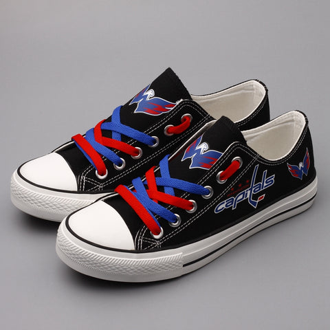 Washington Capitals Canvas Shoes,  [product_collection], DEFINITE Sporting Goods, [product_tags]- DEFINITE Sporting Goods