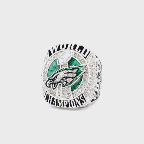 Philadelphia Eagles Replica Superbowl Championship Ring Limited Time Size 7-15 No Box,  [product_collection], DEFINITE Sporting Goods, [product_tags]- DEFINITE Sporting Goods