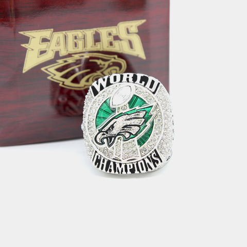 Philadelphia Eagles Replica Superbowl Championship Ring Limited Time Size 7-15 With Box,  [product_collection], DEFINITE Sporting Goods, [product_tags]- DEFINITE Sporting Goods
