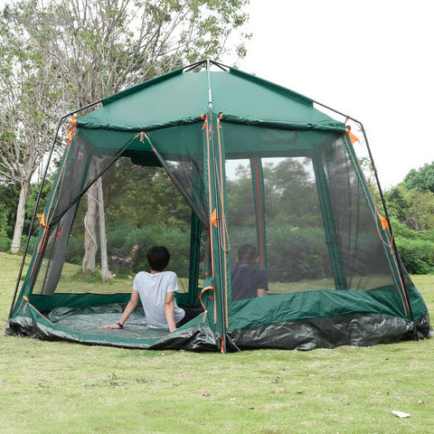 3000mm Waterproof 8-Person Automatic Instant Tent,  [product_collection], DEFINITE Sporting Goods, [product_tags]- DEFINITE Sporting Goods