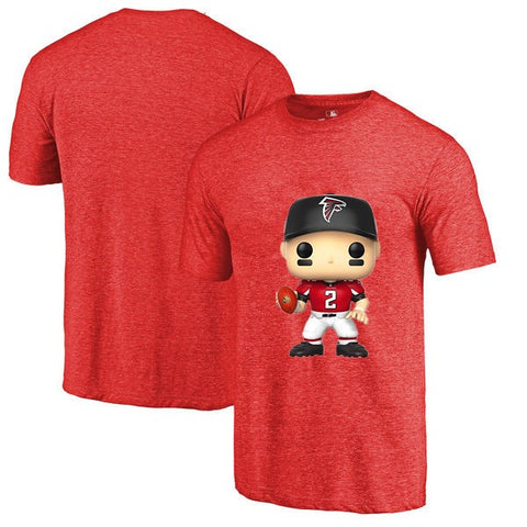 Atlanta Falcons NFL Matt Ryan Cartoon T Shirt,  [product_collection], DEFINITE Sporting Goods, [product_tags]- DEFINITE Sporting Goods