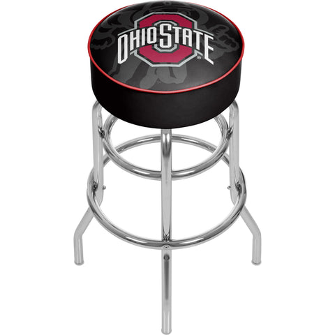 Ohio State Shadow Brutus Padded Swivel Bar Stool,  [product_collection], DEFINITE Sporting Goods, [product_tags]- DEFINITE Sporting Goods