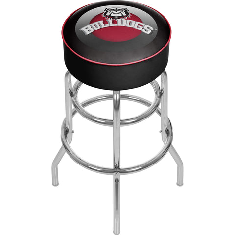 University of Georgia Padded Swivel Bar Stool - Honeycomb,  [product_collection], DEFINITE Sporting Goods, [product_tags]- DEFINITE Sporting Goods