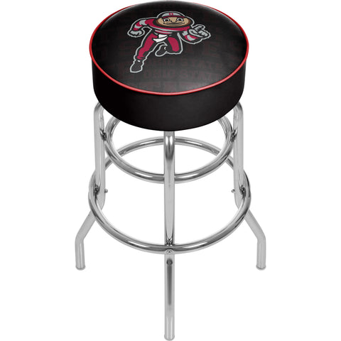 Ohio State Brutus Dash Padded Swivel Bar Stool,  [product_collection], DEFINITE Sporting Goods, [product_tags]- DEFINITE Sporting Goods