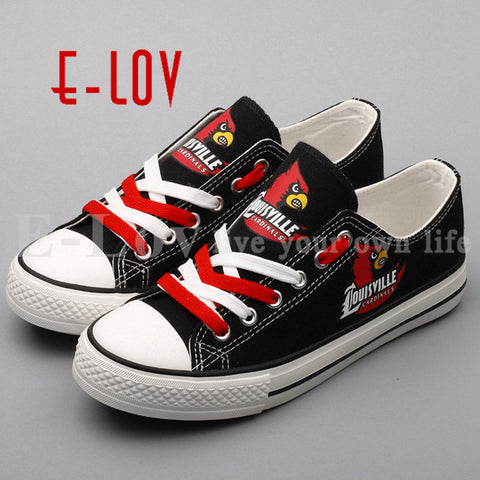 Louisville Cardinals Women's Canvas Shoes,  [product_collection], DEFINITE Sporting Goods, [product_tags]- DEFINITE Sporting Goods