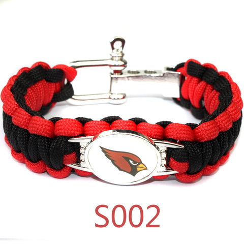 ARIZONA CARDINAL PARACORD BRACELET,  [product_collection], DEFINITE Sporting Goods, [product_tags]- DEFINITE Sporting Goods