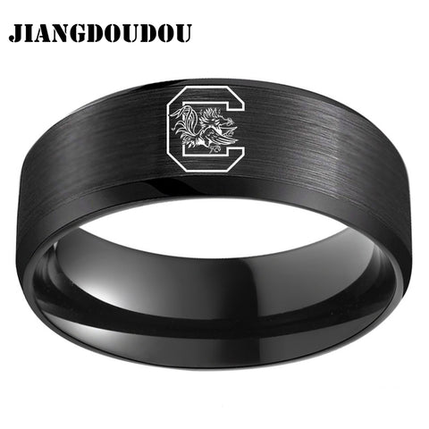 University of South Carolina Men's Titanium Ring 4 colors,  [product_collection], DEFINITE Sporting Goods, [product_tags]- DEFINITE Sporting Goods