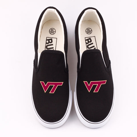 Custom Virginia Tech Canvas Shoes Low Top,  [product_collection], DEFINITE Sporting Goods, [product_tags]- DEFINITE Sporting Goods