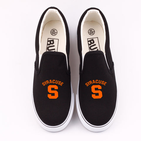 Custom Syracuse Canvas Shoes Low Top,  [product_collection], DEFINITE Sporting Goods, [product_tags]- DEFINITE Sporting Goods