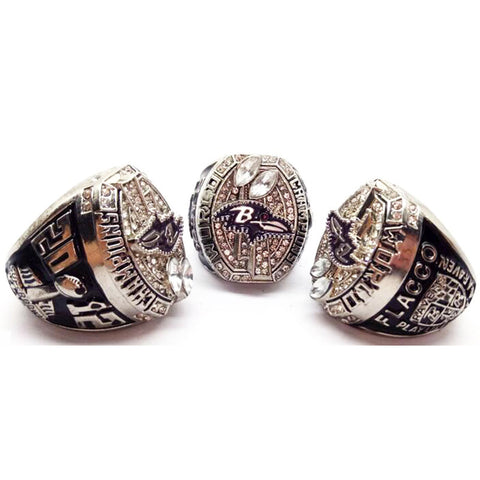 Super Bowl XLVII Baltimore Ravens Champions Rings - Flacco,  [product_collection], DEFINITE Sporting Goods, [product_tags]- DEFINITE Sporting Goods