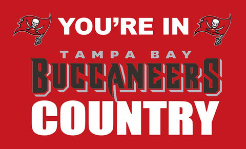 Tampa Bay Buccaneers Country Flag 3x5FT,  [product_collection], DEFINITE Sporting Goods, [product_tags]- DEFINITE Sporting Goods