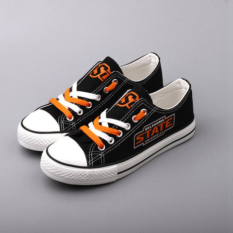 Oklahoma State University Canvas Shoes,  [product_collection], DEFINITE Sporting Goods, [product_tags]- DEFINITE Sporting Goods