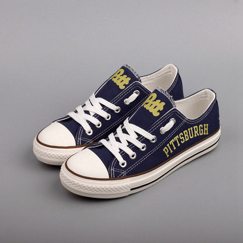 Pittsburgh Panthers Canvas Shoes,  [product_collection], DEFINITE Sporting Goods, [product_tags]- DEFINITE Sporting Goods
