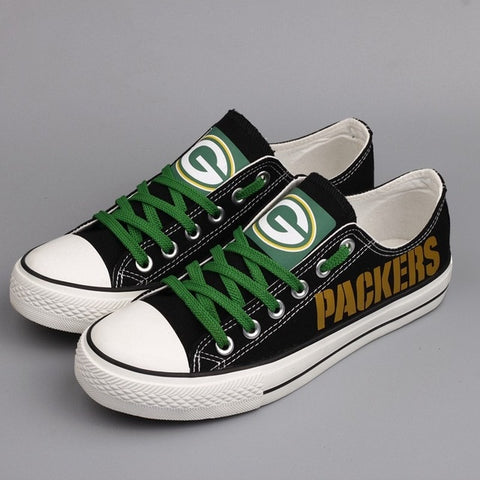Green Bay Packers Shoes Gold,  [product_collection], DEFINITE Sporting Goods, [product_tags]- DEFINITE Sporting Goods