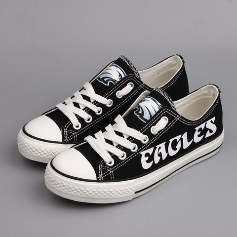 Philadelphia Eagles Canvas Shoes,  [product_collection], DEFINITE Sporting Goods, [product_tags]- DEFINITE Sporting Goods