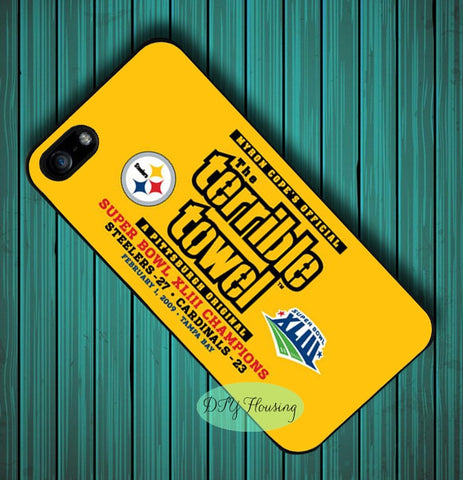 Pittsburgh Steelers Superbowl Terrible Towel Phone Case Cover For iPhone & Samsung,  [product_collection], DEFINITE Sporting Goods, [product_tags]- DEFINITE Sporting Goods
