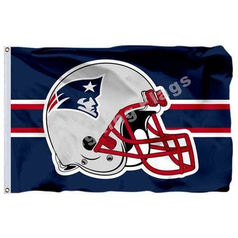 NFL New England Patriots Helmet Flag,  [product_collection], DEFINITE Sporting Goods, [product_tags]- DEFINITE Sporting Goods