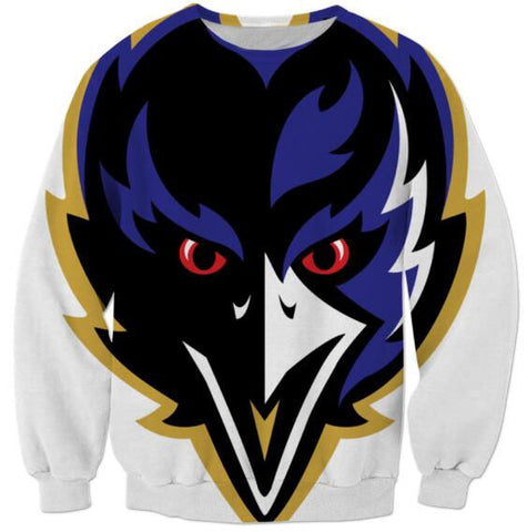 Baltimore Ravens Sweatshirt Crewneck,  [product_collection], DEFINITE Sporting Goods, [product_tags]- DEFINITE Sporting Goods