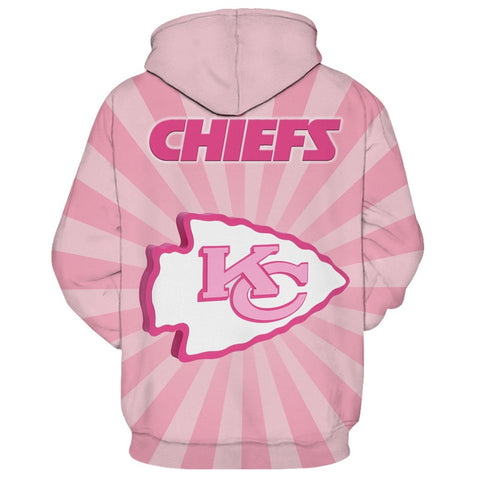 Cancer Awareness Kansas City Chiefs Pullover Hoodie,  [product_collection], DEFINITE Sporting Goods, [product_tags]- DEFINITE Sporting Goods
