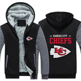 Men's Kansas City Chiefs Custom Thick Hoodie,  [product_collection], DEFINITE Sporting Goods, [product_tags]- DEFINITE Sporting Goods