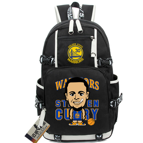 Golden State Steph Curry Custom NBA Basketball Backpack,  [product_collection], DEFINITE Sporting Goods, [product_tags]- DEFINITE Sporting Goods