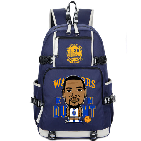 Golden State Kevin Durant Custom NBA Basketball Backpack,  [product_collection], DEFINITE Sporting Goods, [product_tags]- DEFINITE Sporting Goods
