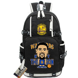 Golden State Klay Thompson Custom NBA Basketball Backpack,  [product_collection], DEFINITE Sporting Goods, [product_tags]- DEFINITE Sporting Goods