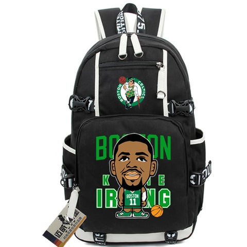 Celtics Kyrie Irving Custom NBA Basketball Backpack,  [product_collection], DEFINITE Sporting Goods, [product_tags]- DEFINITE Sporting Goods