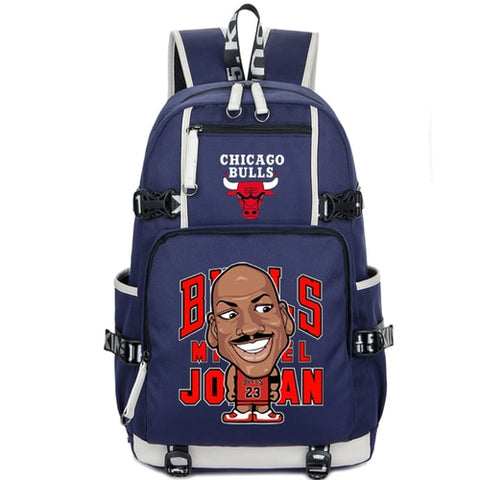 Michael Jordan Chicago Bulls Custom NBA Basketball Backpack,  [product_collection], DEFINITE Sporting Goods, [product_tags]- DEFINITE Sporting Goods