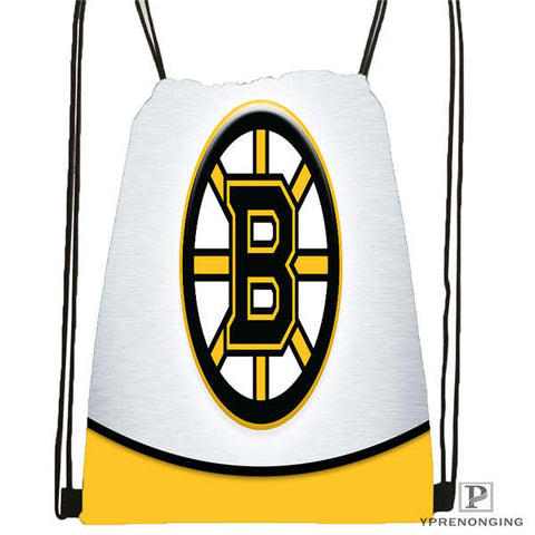 Custom Boston Bruins Drawstring Backpack,  [product_collection], DEFINITE Sporting Goods, [product_tags]- DEFINITE Sporting Goods