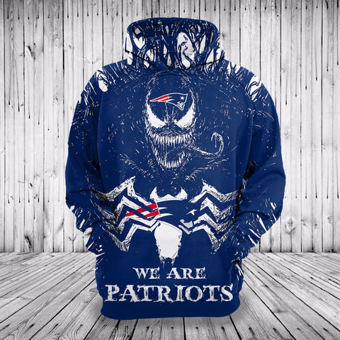 We are Patriots Venom Hoodie,  [product_collection], DEFINITE Sporting Goods, [product_tags]- DEFINITE Sporting Goods