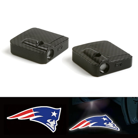 New England Patriots 2 Piece Car Door Logo LED Lights,  [product_collection], DEFINITE Sporting Goods, [product_tags]- DEFINITE Sporting Goods