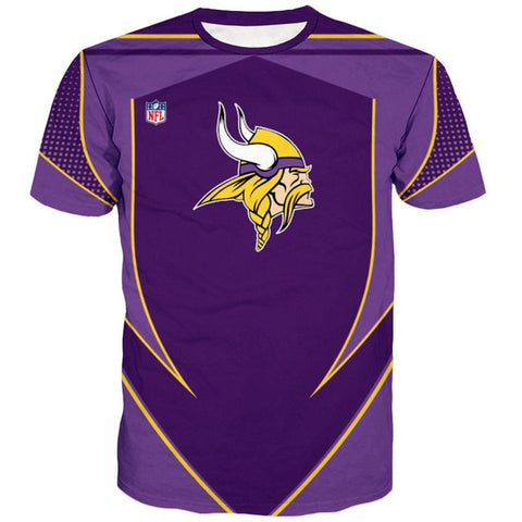 Minnesota Vikings Custom Compression Shirt
