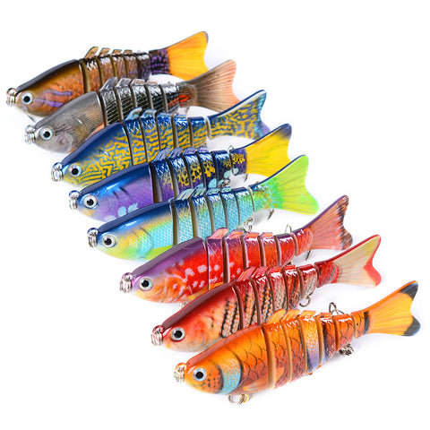10cm Plastic Hardswim Bass Baits 8 Colors,  [product_collection], DEFINITE Sporting Goods, [product_tags]- DEFINITE Sporting Goods
