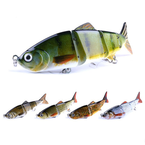 Hard Fishing Lure Multi Jointed 3D Eyes Lure,  [product_collection], DEFINITE Sporting Goods, [product_tags]- DEFINITE Sporting Goods