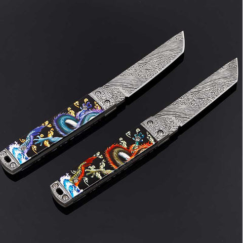 Dragon skin Engraved 57RC tactical knife,  [product_collection], DEFINITE Sporting Goods, [product_tags]- DEFINITE Sporting Goods