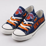 New York Knicks Womens NBA Custom Canvas Shoes,  [product_collection], DEFINITE Sporting Goods, [product_tags]- DEFINITE Sporting Goods