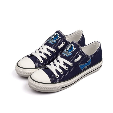 Dallas Mavericks Womens NBA Custom Canvas Shoes,  [product_collection], DEFINITE Sporting Goods, [product_tags]- DEFINITE Sporting Goods