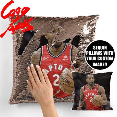 Kawhi Leonard Raptors pillow cover,  [product_collection], DEFINITE Sporting Goods, [product_tags]- DEFINITE Sporting Goods