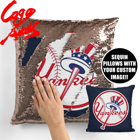 New York Yankees pillow cover,  [product_collection], DEFINITE Sporting Goods, [product_tags]- DEFINITE Sporting Goods