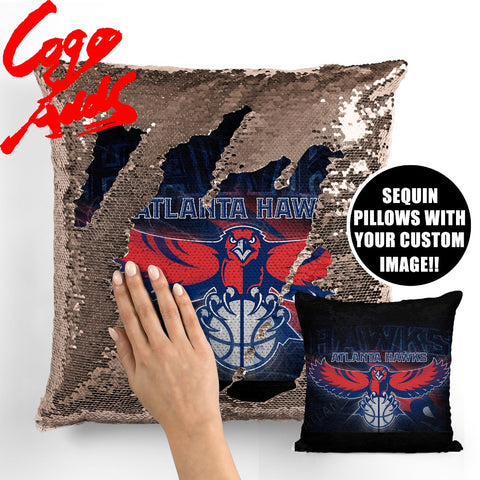 Atlanta Hawks pillow cover,  [product_collection], DEFINITE Sporting Goods, [product_tags]- DEFINITE Sporting Goods