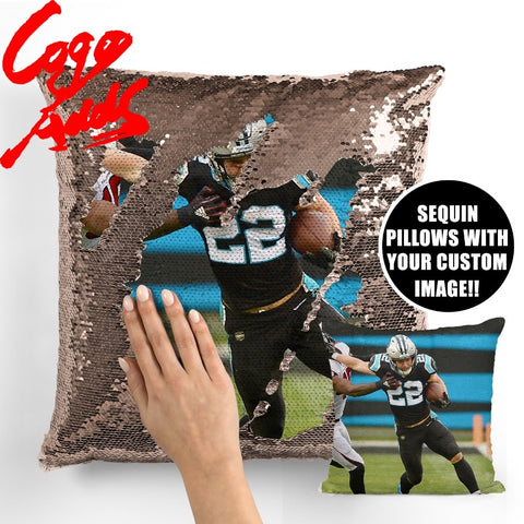 Christian McCaffrey pillow cover,  [product_collection], DEFINITE Sporting Goods, [product_tags]- DEFINITE Sporting Goods