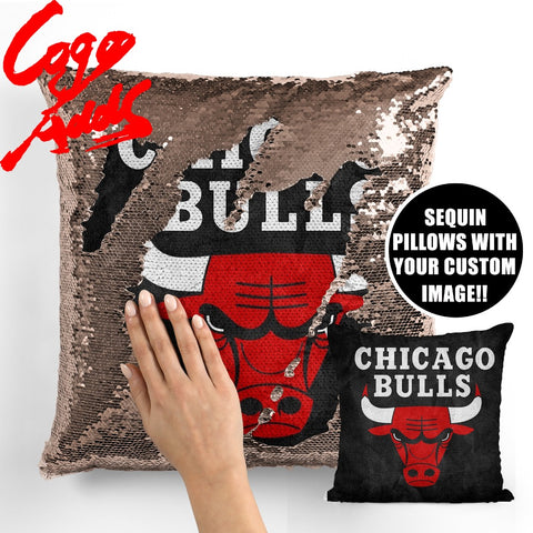 Chicago Bulls pillow cover,  [product_collection], DEFINITE Sporting Goods, [product_tags]- DEFINITE Sporting Goods