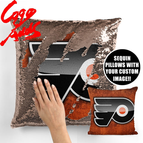 Philadelphia Flyers pillow cover,  [product_collection], DEFINITE Sporting Goods, [product_tags]- DEFINITE Sporting Goods