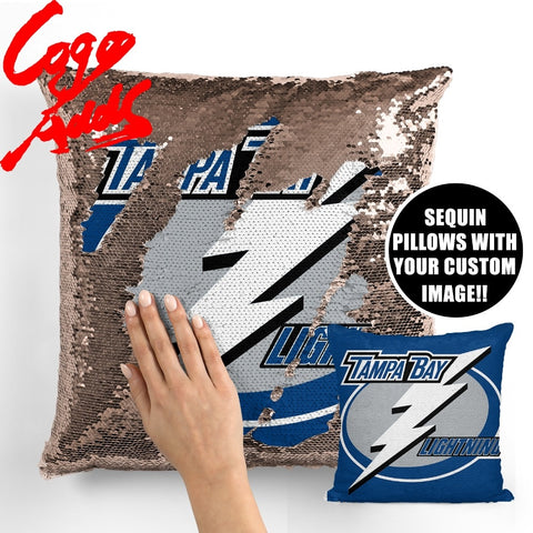 Tampa Bay Lightning pillow cover,  [product_collection], DEFINITE Sporting Goods, [product_tags]- DEFINITE Sporting Goods
