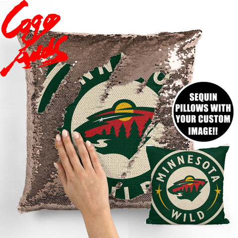 Minnesota Wild pillow cover,  [product_collection], DEFINITE Sporting Goods, [product_tags]- DEFINITE Sporting Goods