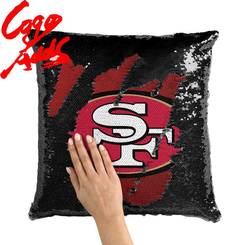 San Francisco 49ers pillow cover,  [product_collection], DEFINITE Sporting Goods, [product_tags]- DEFINITE Sporting Goods