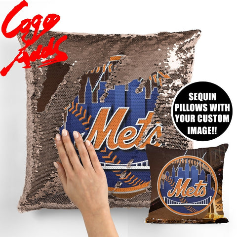 New York Mets pillow cover,  [product_collection], DEFINITE Sporting Goods, [product_tags]- DEFINITE Sporting Goods